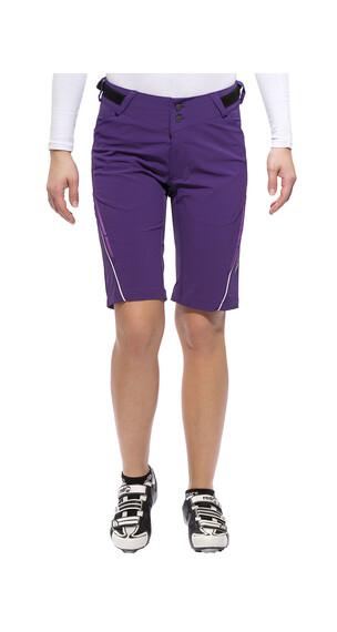 Endura Singletrack Lite  Spodnie rowerowe fioletowy